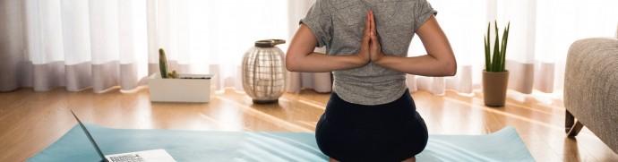 Le yoga pour bien dormir illustration